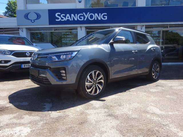 SsangYong Tivoli 1.5 Ultimate  Auto - H/LEATHER - NAV - BLUETOOTH - Four Wheel Drive Petrol Grey